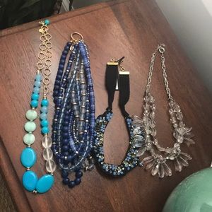 Ann Taylor/Loft necklace lot.  3 new!
